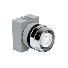 Selector Switch 3pos Momentary 2NO Spring Return Right and Left Lever