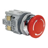 AVD301N-R 40mm Emergency-Stop 30mm Operator 1n/c  AVD-301NU-R